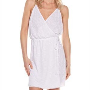 Becca  Wrap Tie Waist Short Dress Swim Cover Up